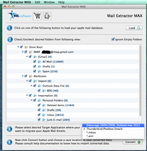 Convert Mac Mail to Outlook 2011