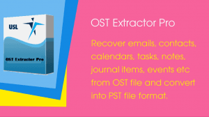 "Convert OST to PST Free Download Trial Version of ""OST Extractor Pro""!"