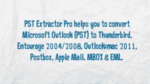 Convert PST to MBOX Mac Freeware