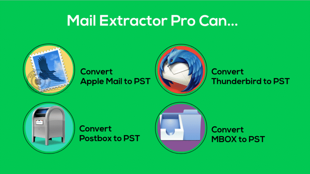 Thunderbird MBOX to Outlook PST Converter