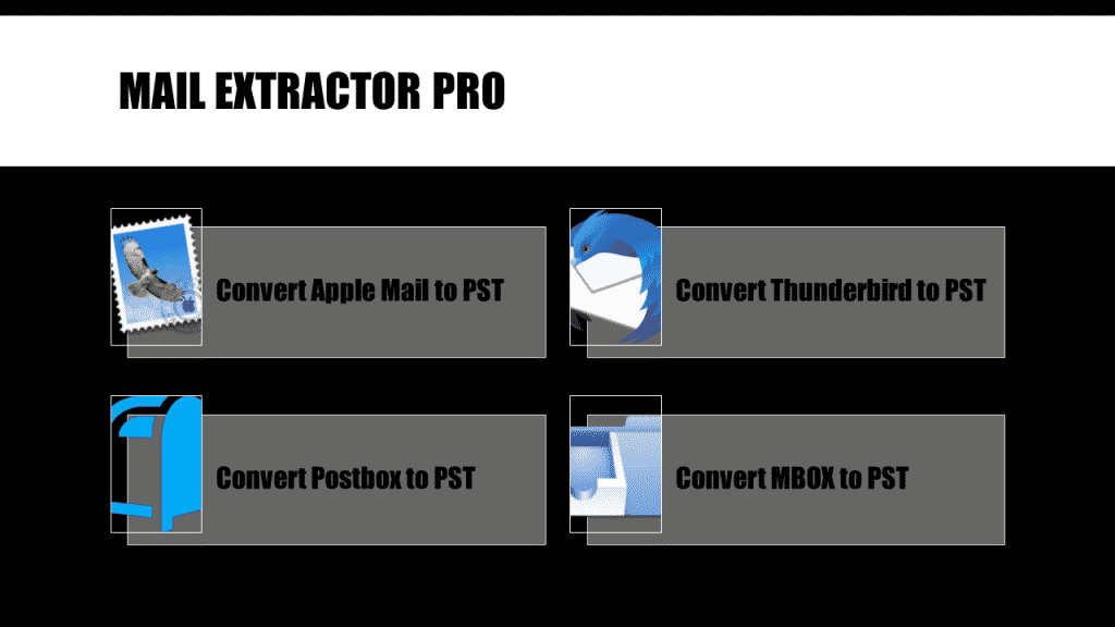 Mac Mail Export MBOX to Outlook Converter