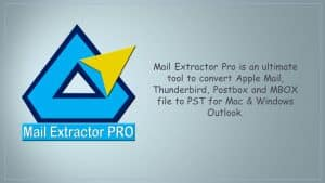 Export Apple Mail MBOX to PST for Mac/Win Outlook