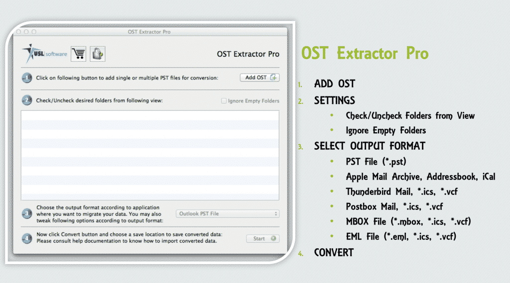 importing ost to outlook mac