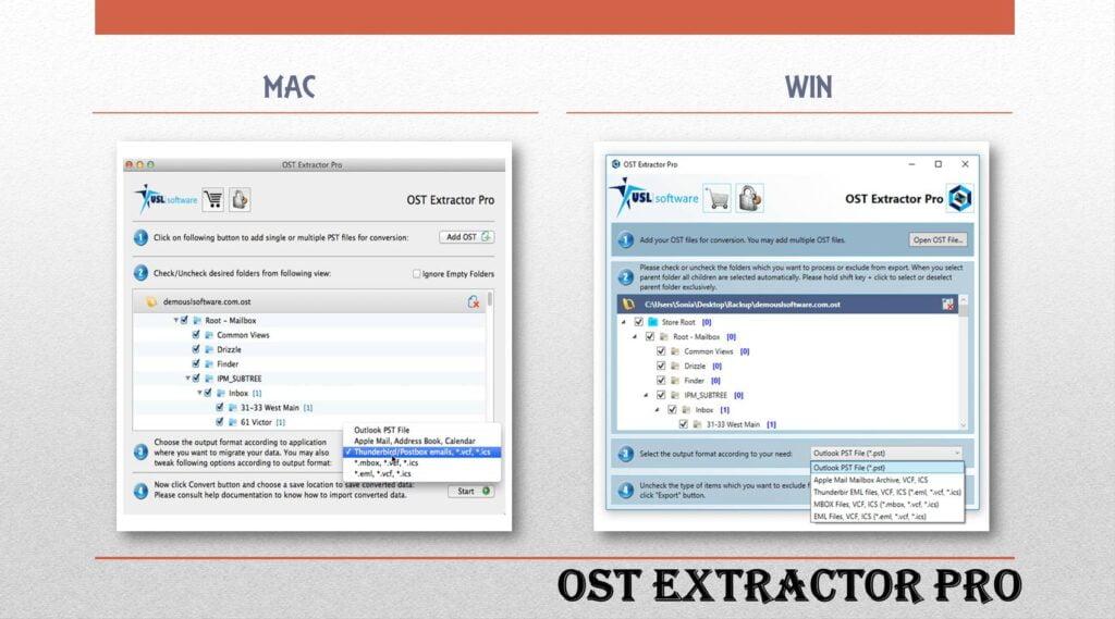 Microsoft OST to PST Migration