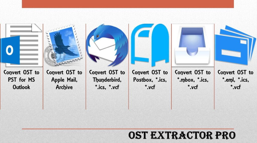 Microsoft OST to PST Migration Tool